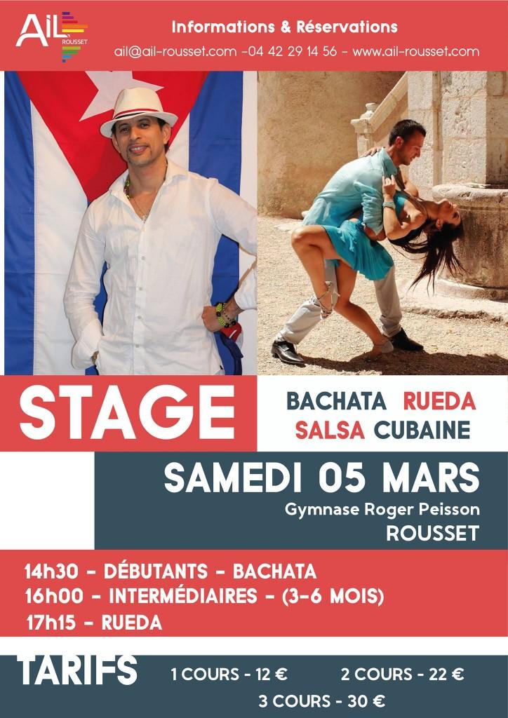 stage Bachata et Salsa cubaine Rueda à Rousset