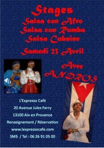 stage salsa cubaine aix en provence