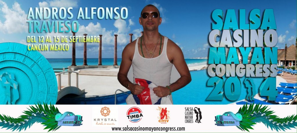 Salsa Casino Mayan Congress Cancun 2014