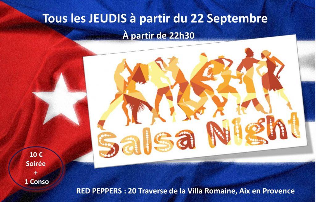 soiree salsa jeudi