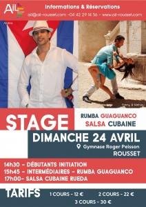 stage salsa cubaine rousset