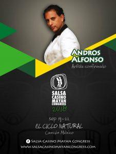 Andros professeur au salsa casino mayan congress