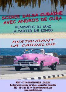 soiree salsa cubaine