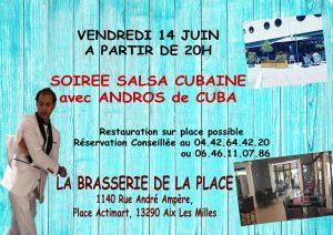 Soirée Salsa cubaine Aix Les Milles