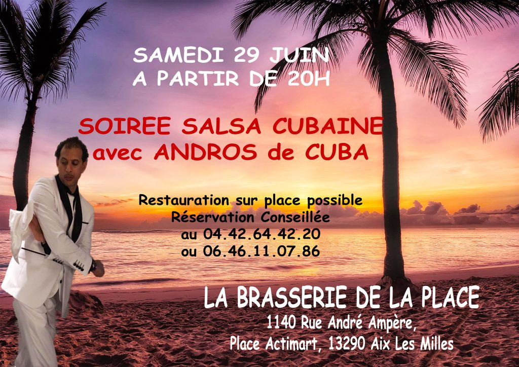 soirée salsa cubaine aix