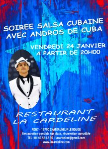 soiree salsa cubanie a aix